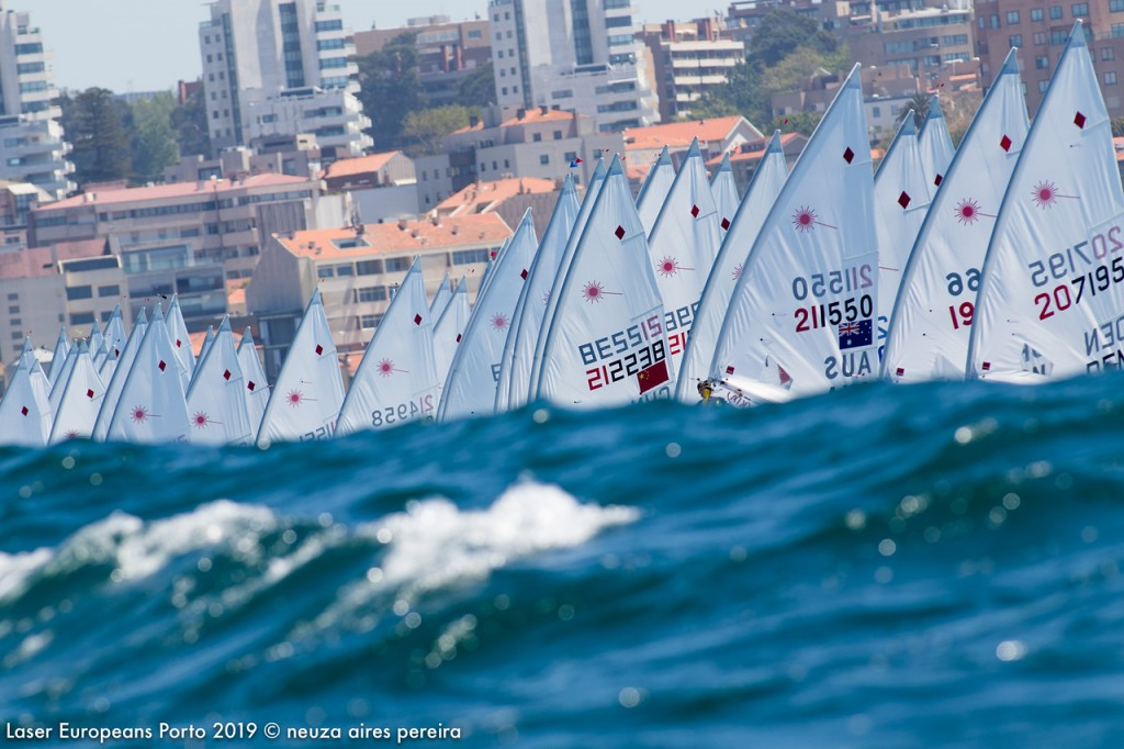 Day 6 of the Laser Europeans Porto 2019