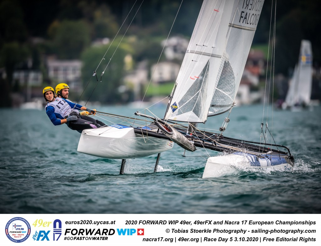 2020 Forward WIP 49er, 49erFX and Nacra 17 Europeans | Attersee,